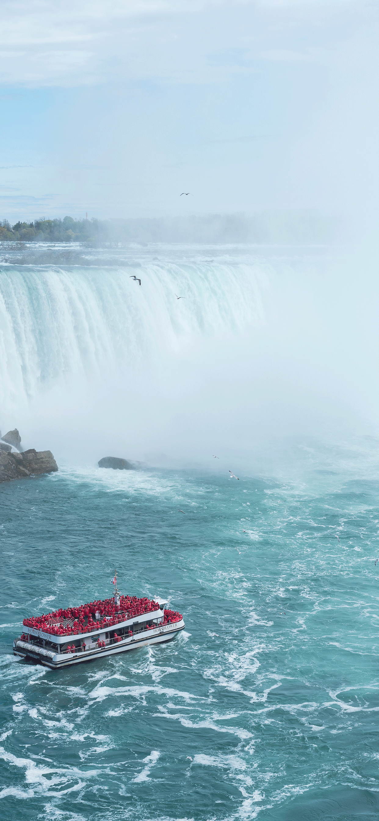iPhone wallpapers niagara falls red Niagara Falls