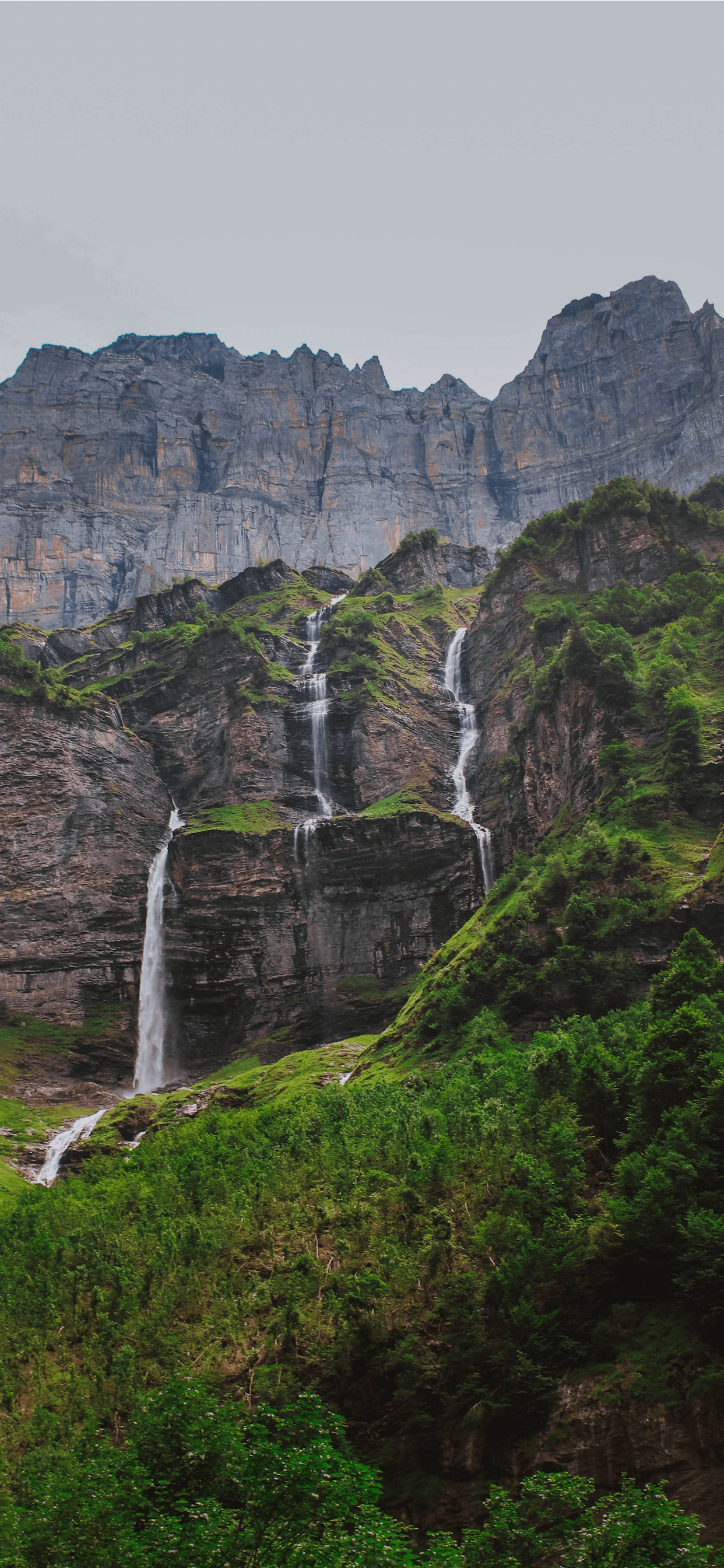 iPhone wallpapers alpes waterfall mountain Alpes