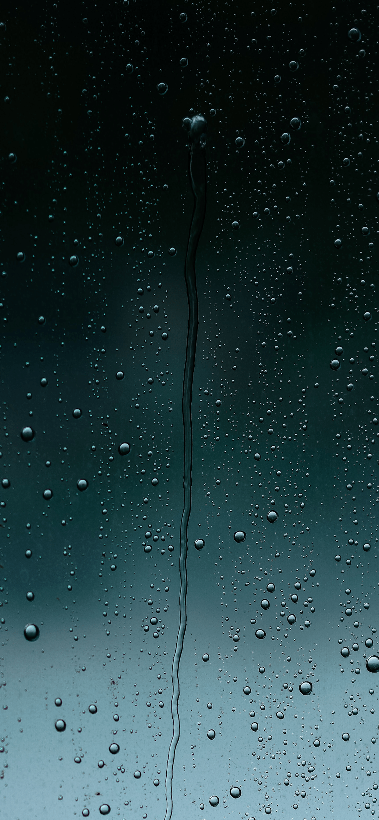 iPhone wallpapers rain drops green Raindrops