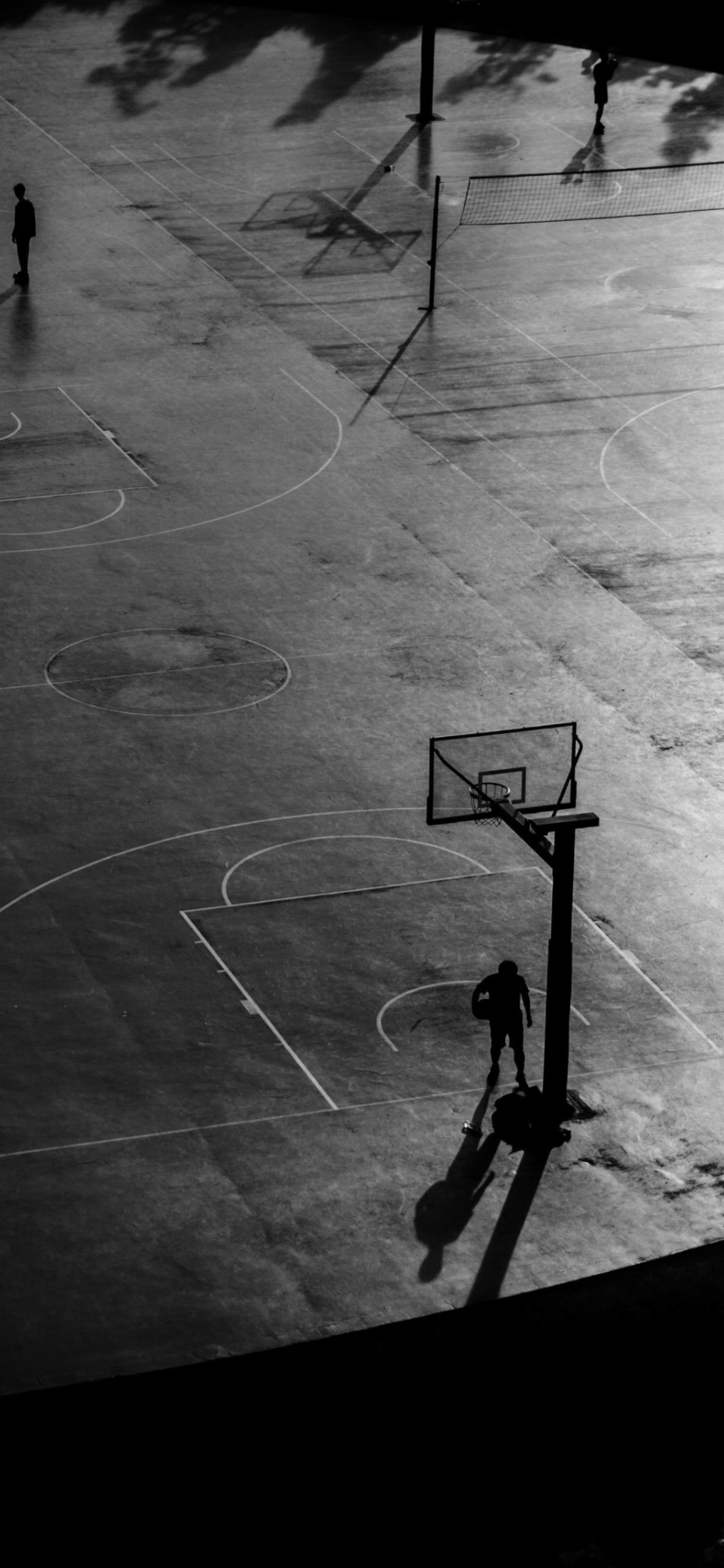 iPhone wallpapers basketball court scaled Basketball