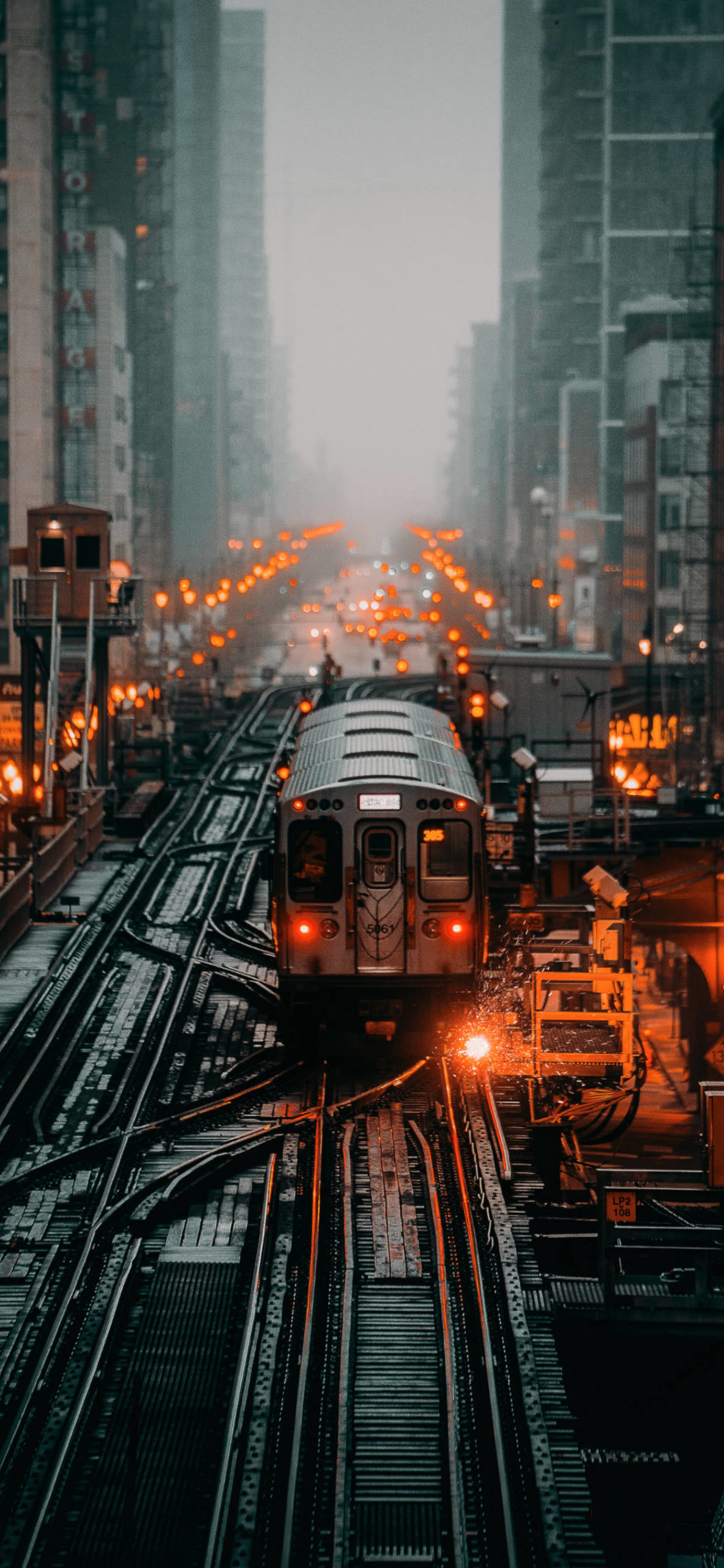 iPhone wallpapers train chicago usa scaled Train