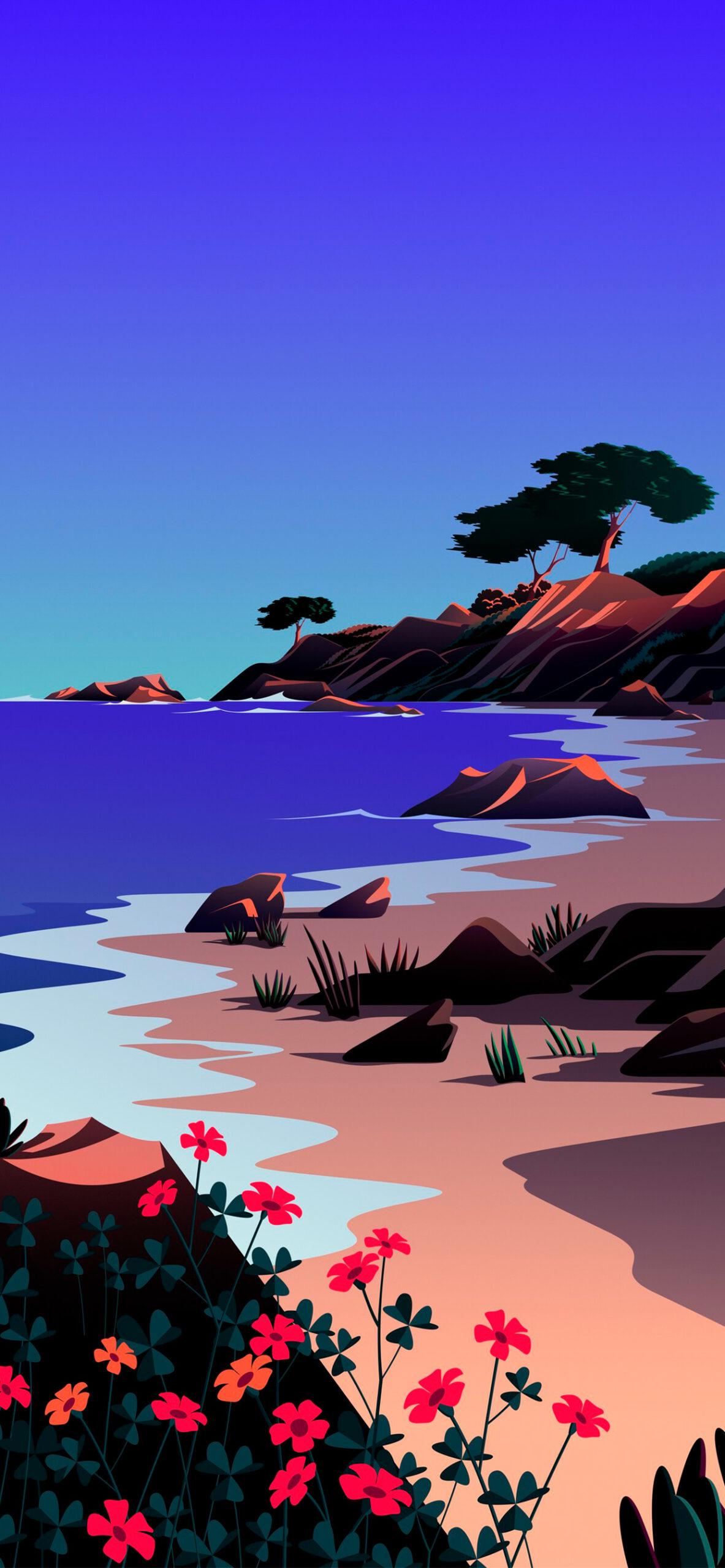 iphone wallpaper big sur beach2 scaled Mac OS Big Sur (Beach)