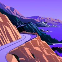 Mac OS Big Sur (Cliffs)