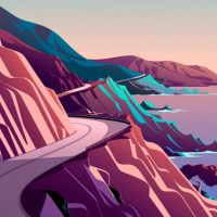 Mac OS Big Sur (Cliffs)