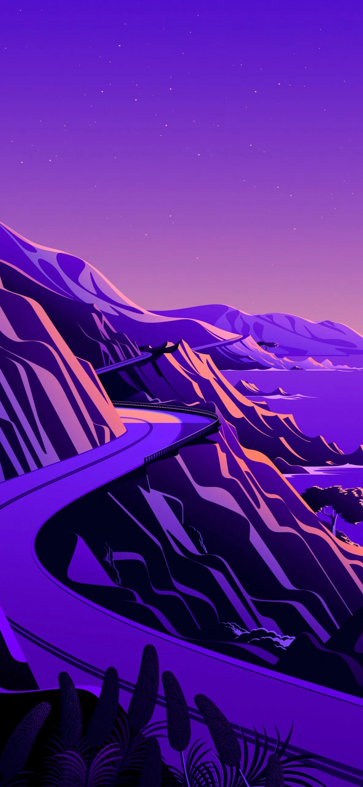 iphone wallpaper big sur cliffs6 scaled Mac OS Big Sur (Cliffs)