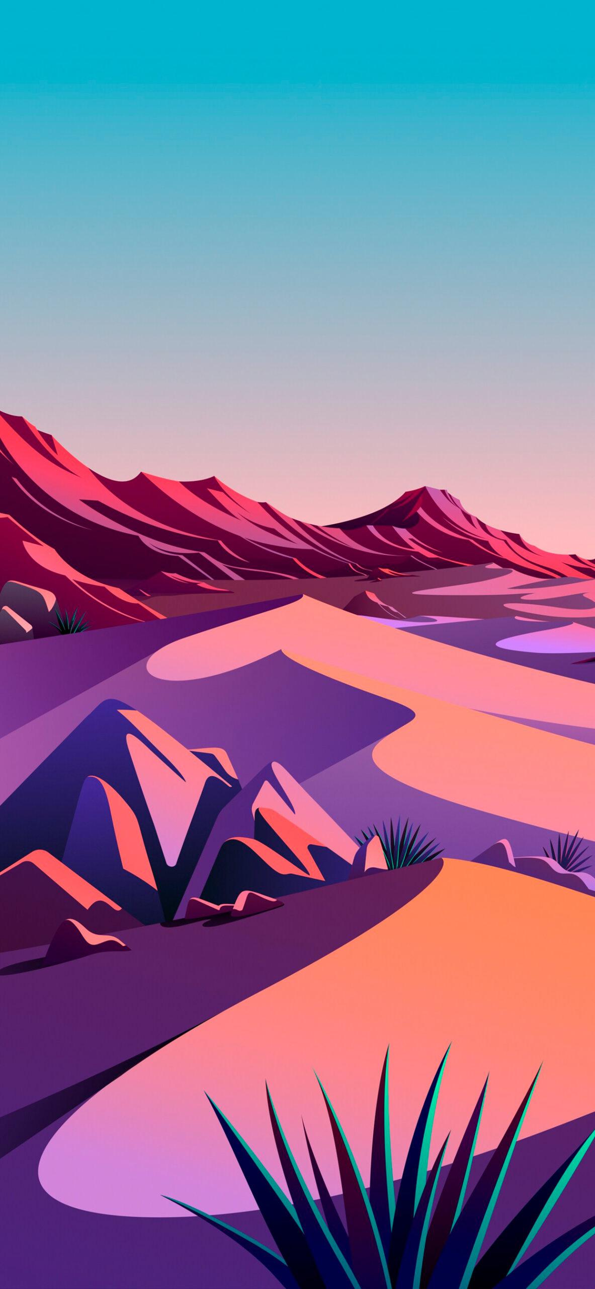 iphone wallpaper big sur desert4 scaled Mac OS Big Sur (Desert)