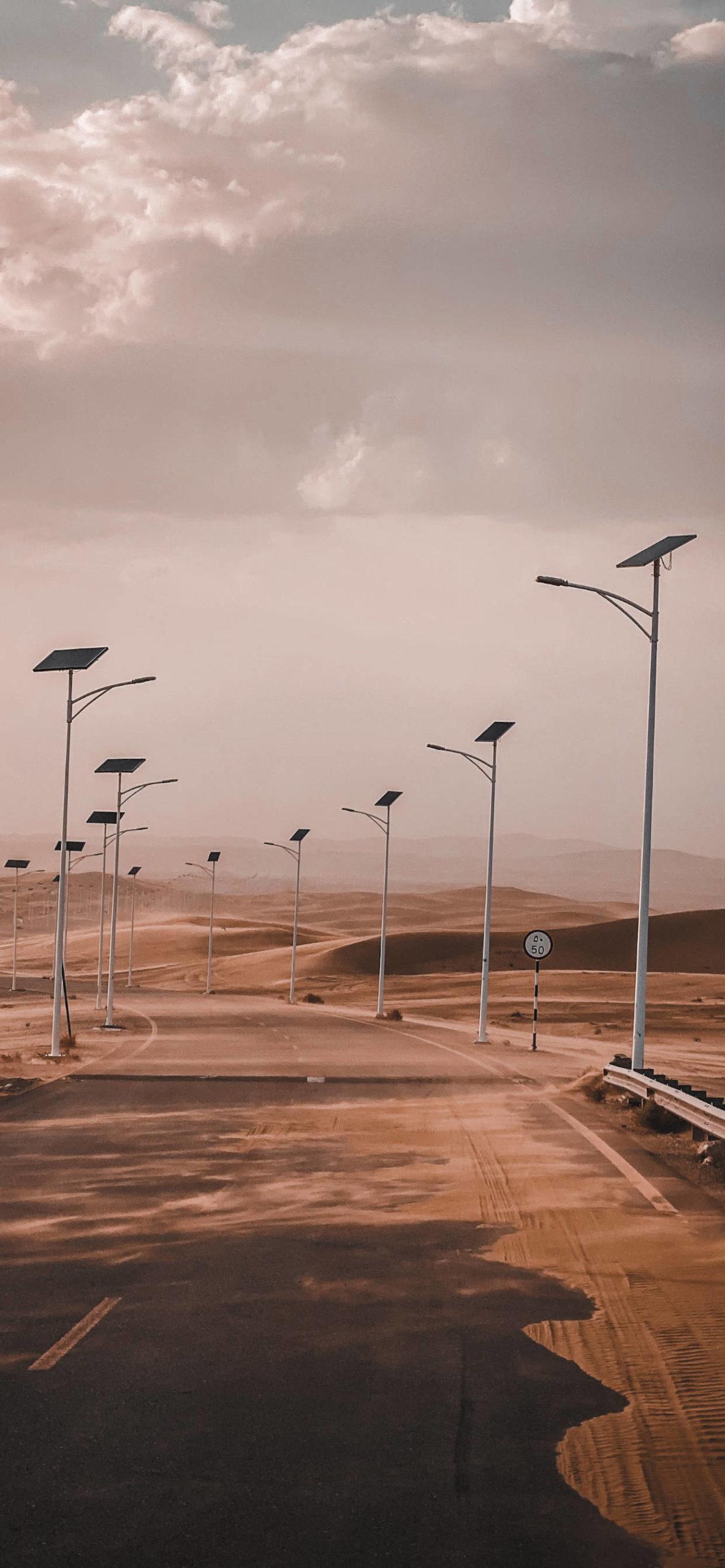 iPhone wallpapers desert abandoned scaled Desert