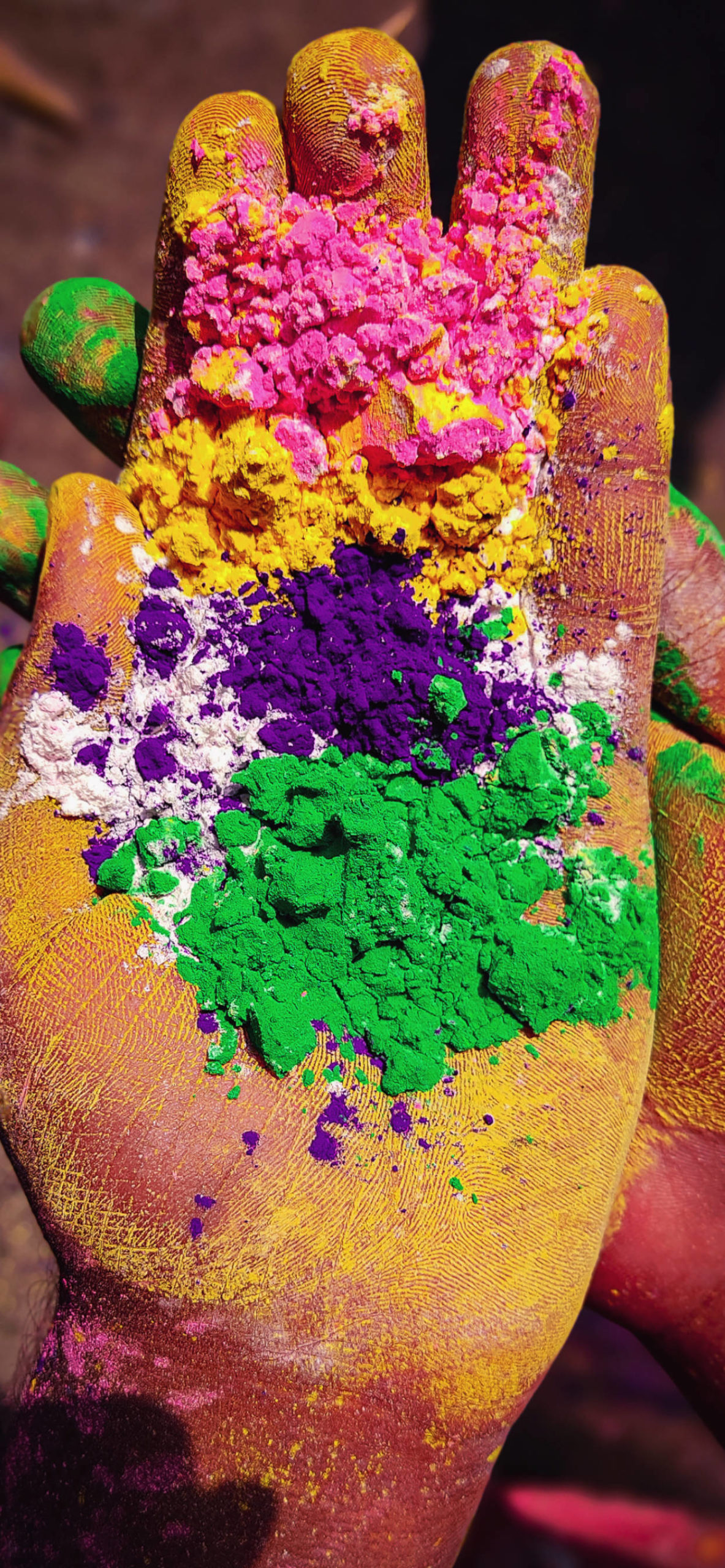 iPhone wallpapers india holi hands scaled India