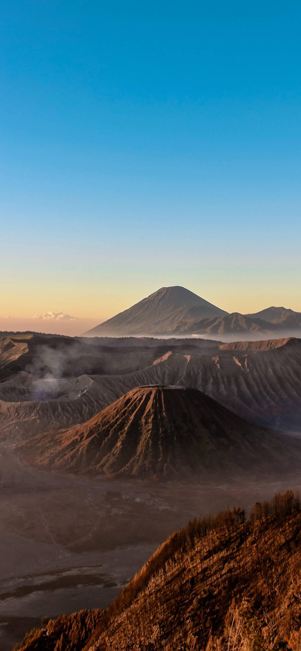 iPhone wallpapers mount bromo probolinggo Mount Bromo