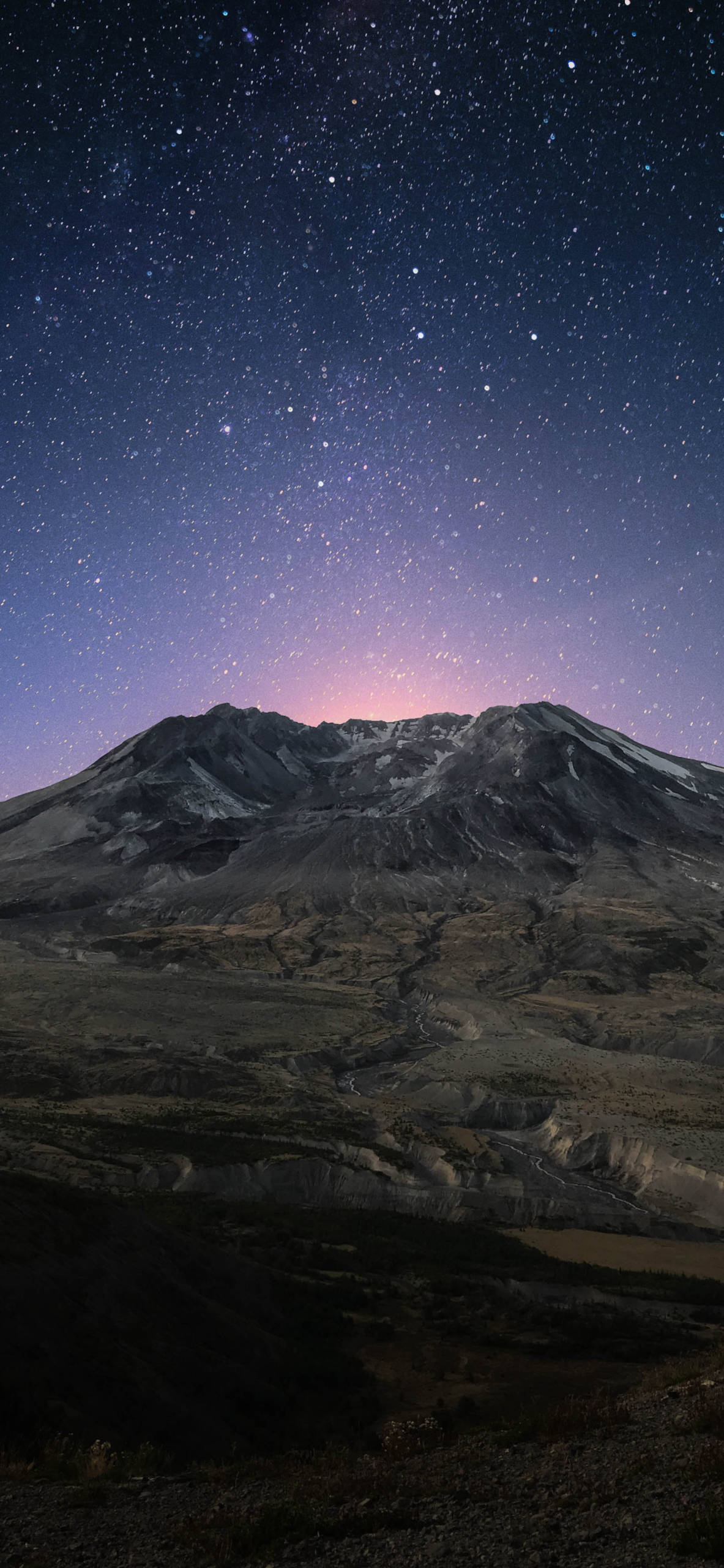 iPhone wallpapers mountain stars Mountains