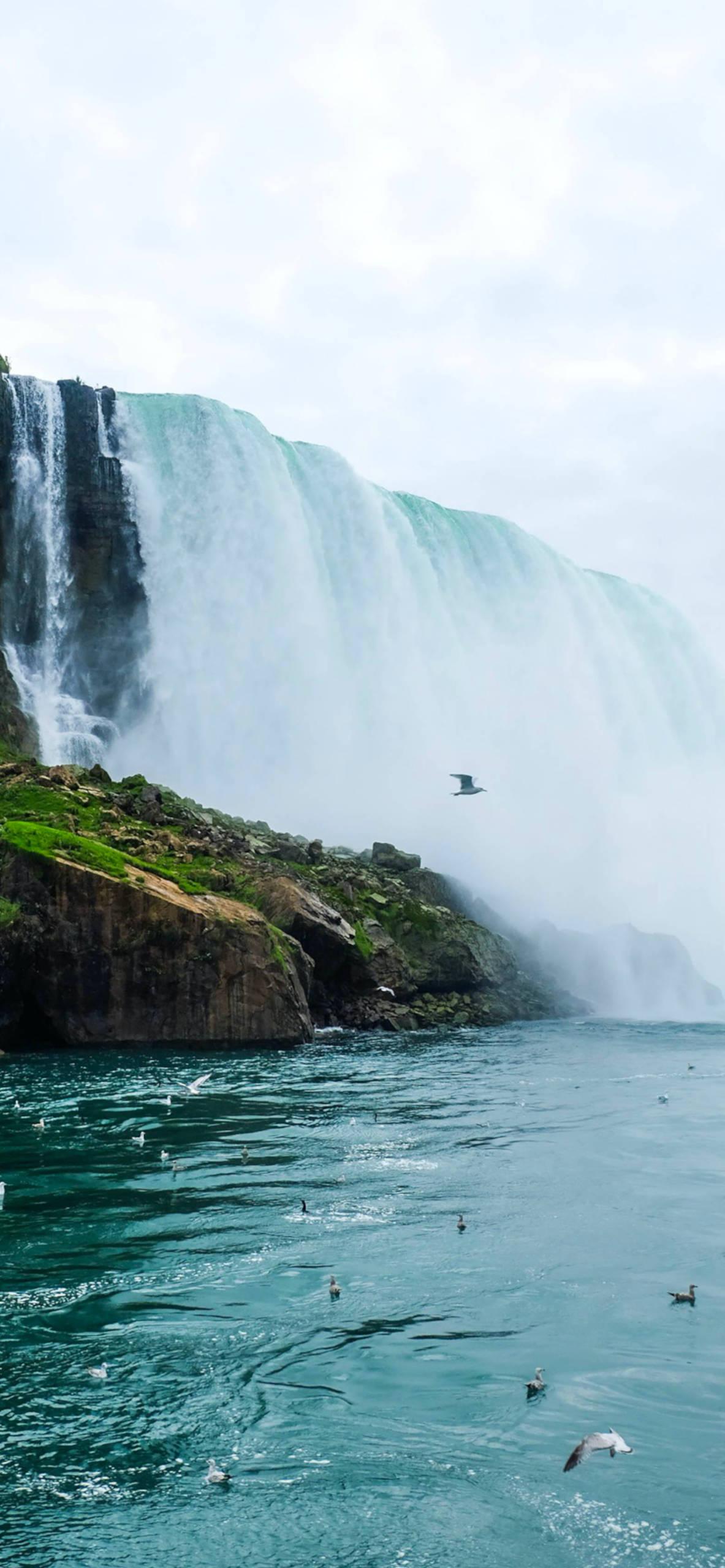 iPhone wallpapers niagara falls rocks Niagara Falls