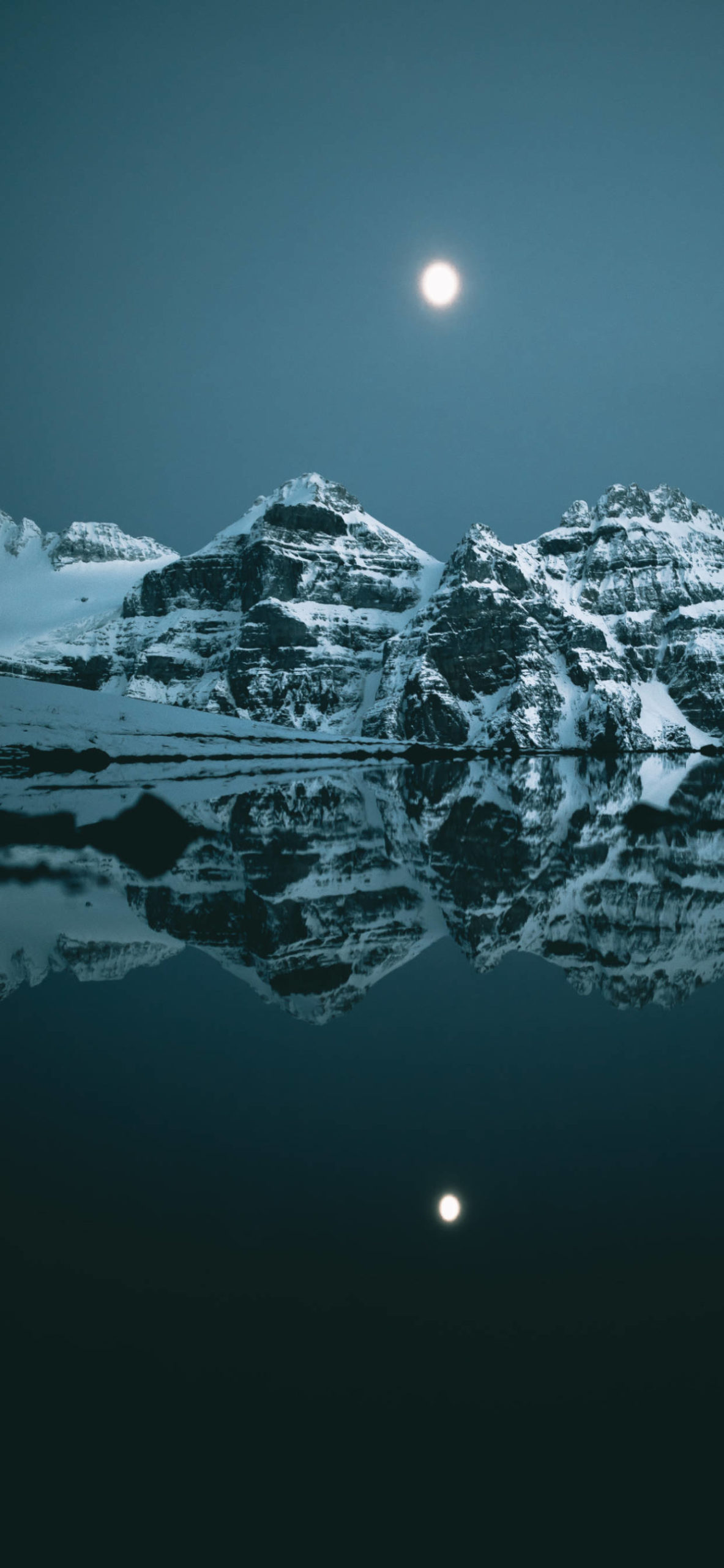 iPhone wallpapers canada moraine lake scaled Canada