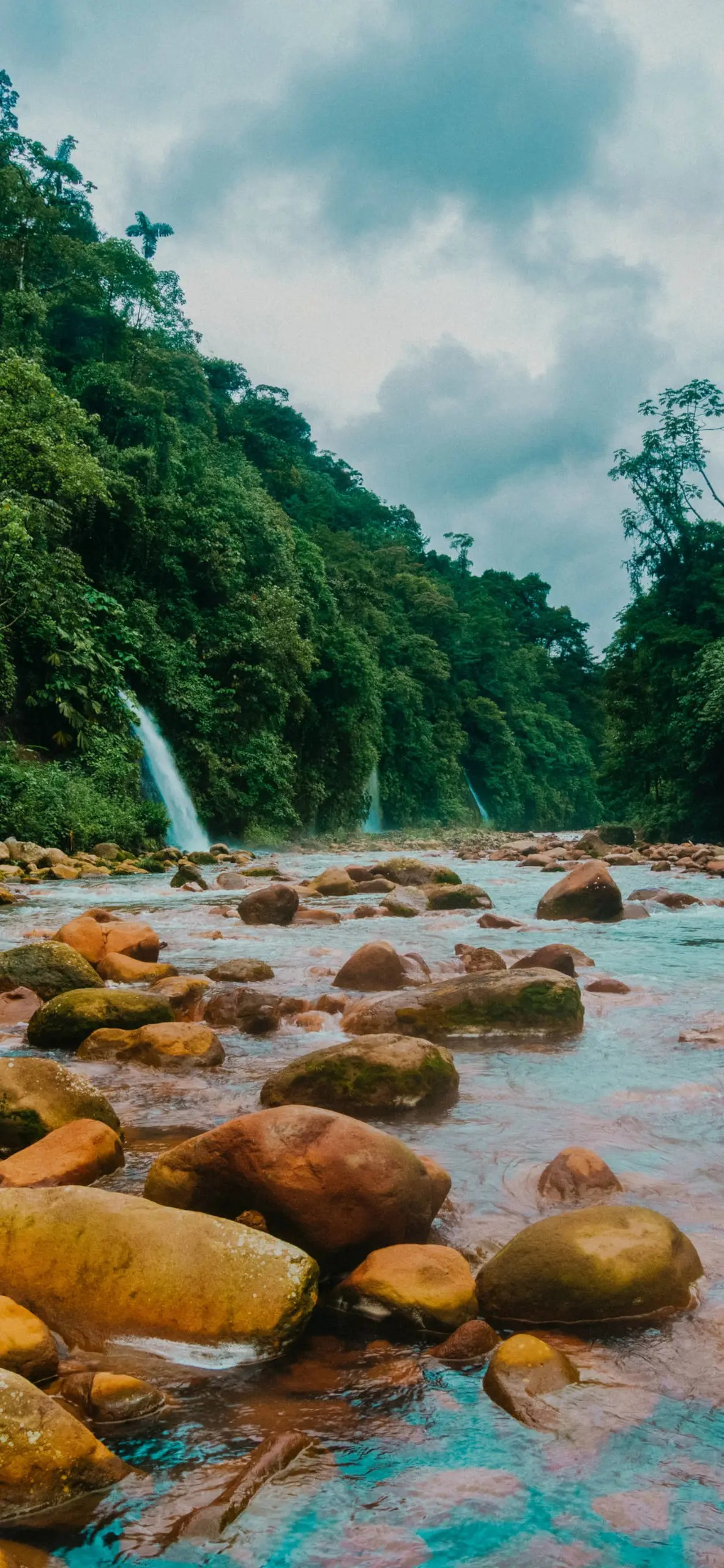 iPhone wallpapers river costa rica River