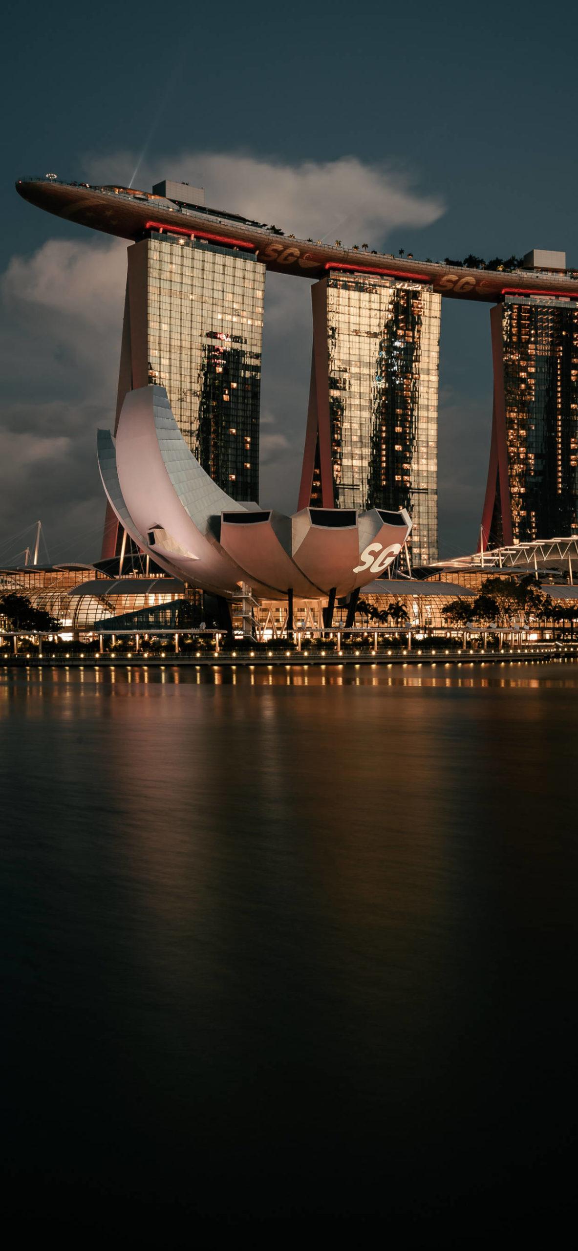 iPhone wallpapers singapore marina bay scaled Singapore