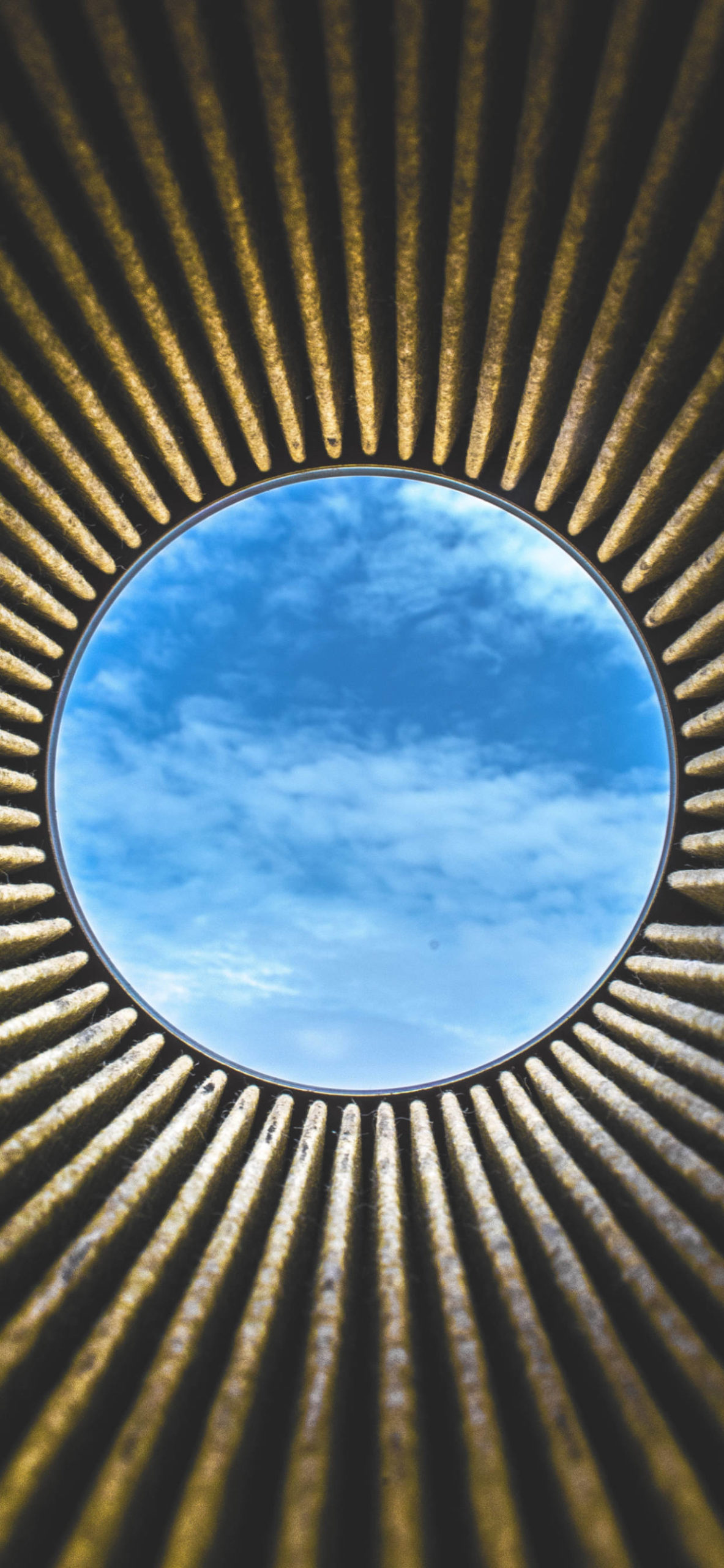 iPhone wallpapers architecture circle sky scaled Architecture