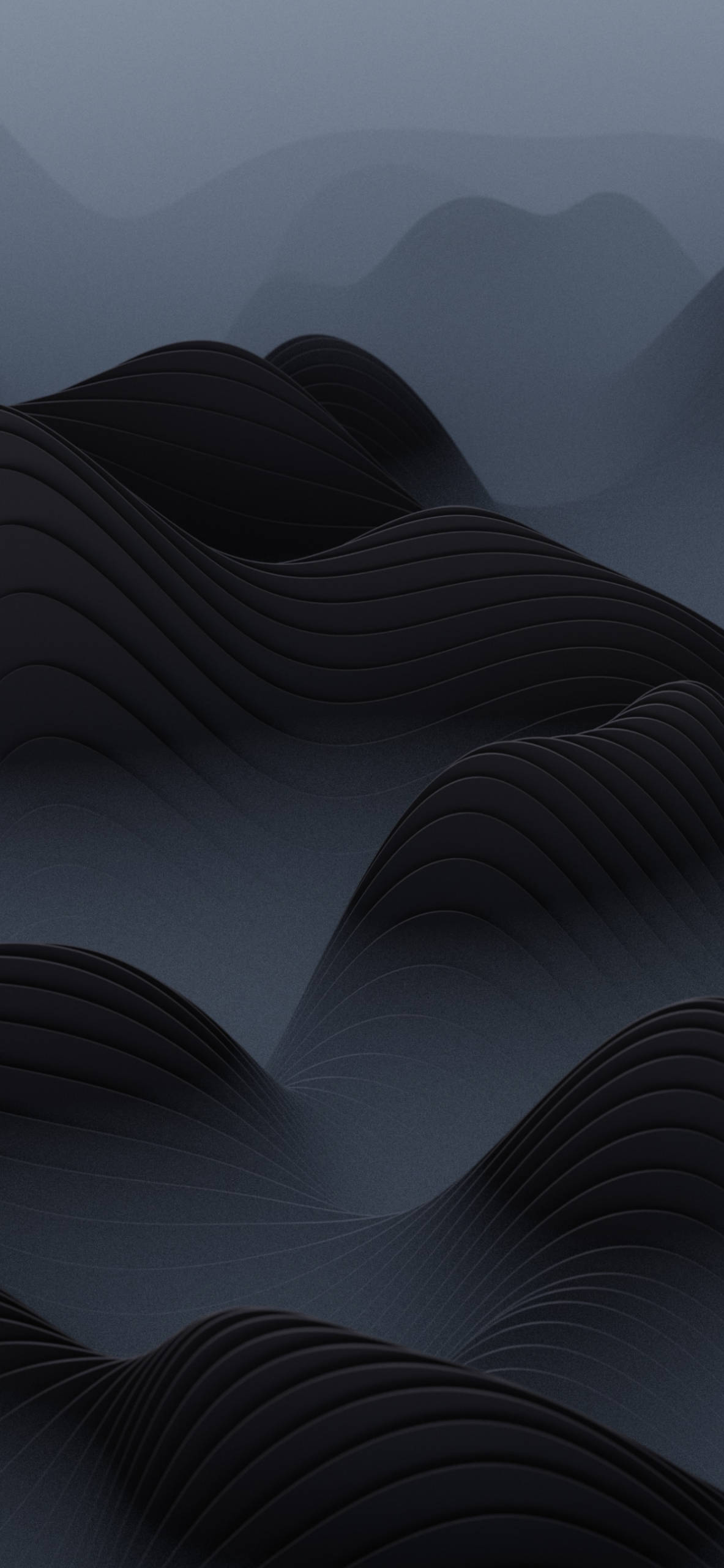 iPhone wallpapers curves black Texture