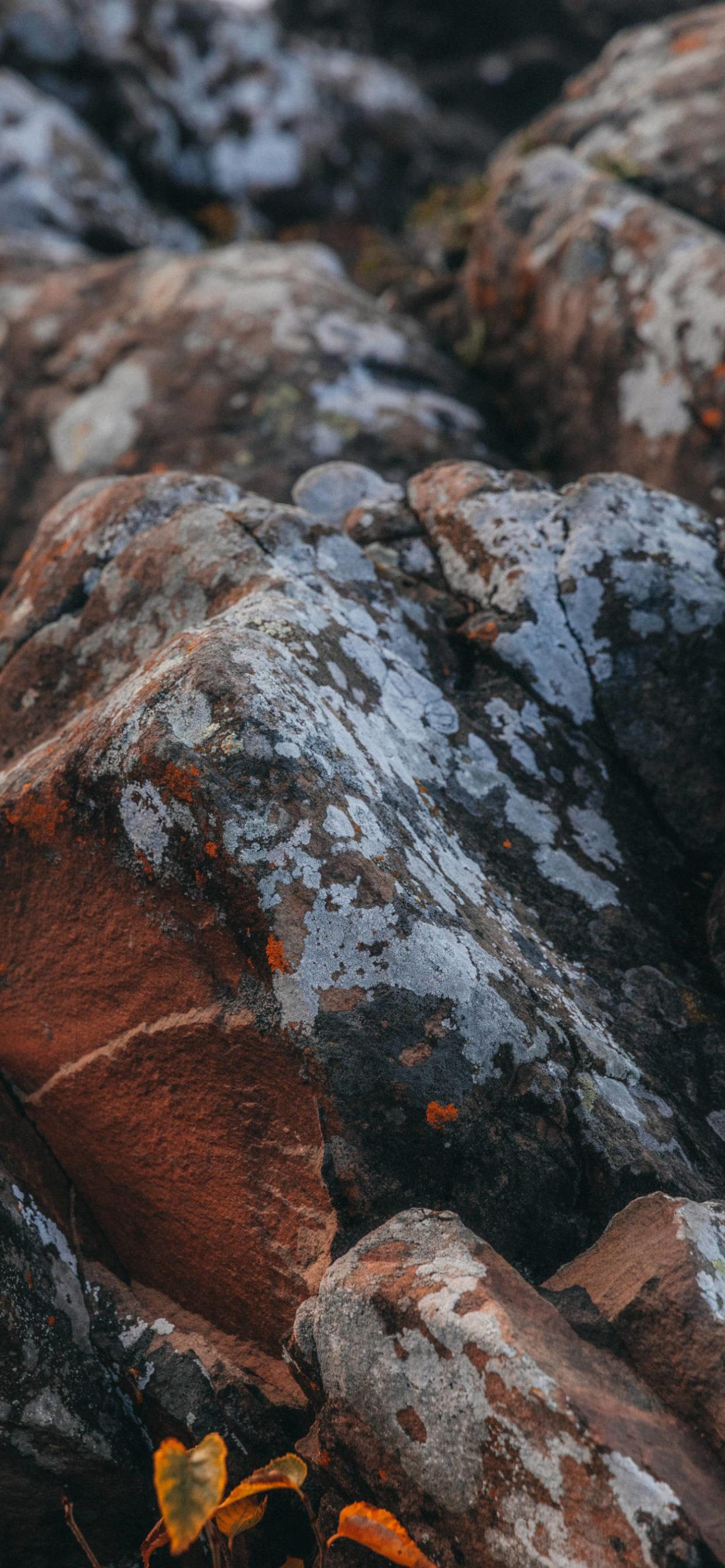 iPhone wallpapers textures rocks grey orange scaled Textures