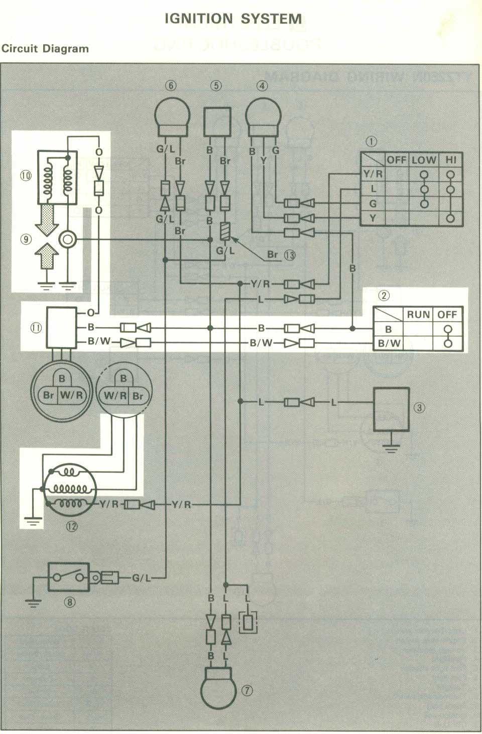 1982 Kawasaki Wiring Diagrams 200