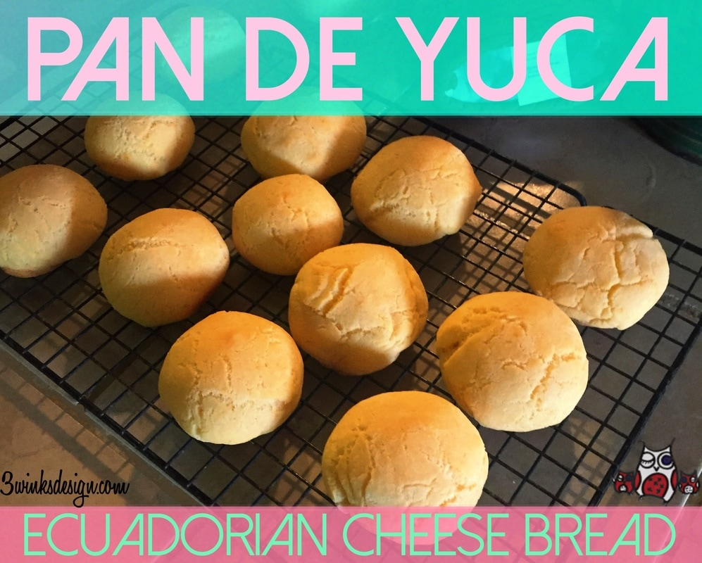 Pan de Yuca-Ecuadorian Cheese Bread