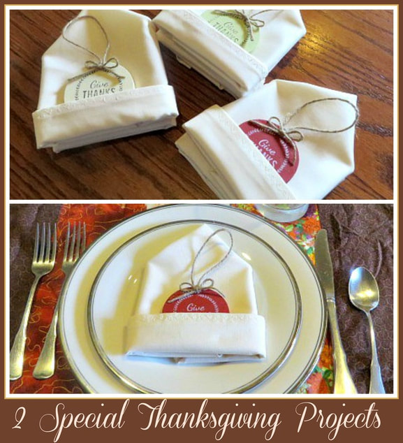 2 Special Projects for Thanksgiving by 3 Winks Design