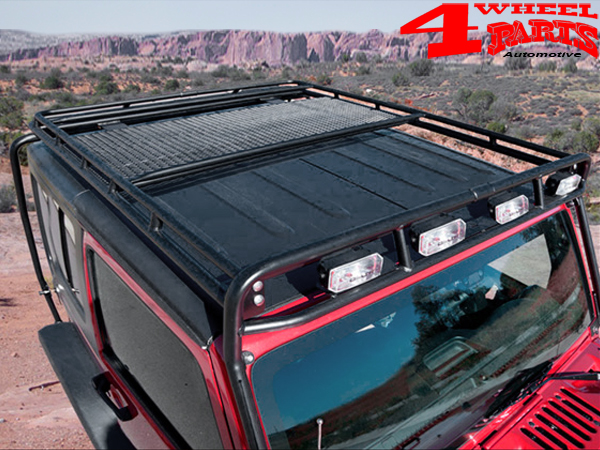 overhead roof rack stealth gobi jeep