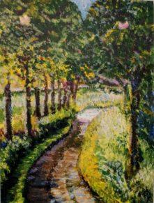 Green & Pleasant Land by Hilary Blake Adams-£95