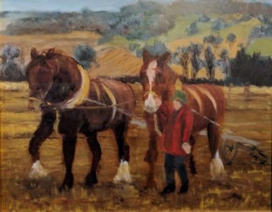Pulling the Plough by Sanjay Synghal-£85