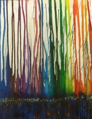 Running on canvas 2016 by Liza Leong