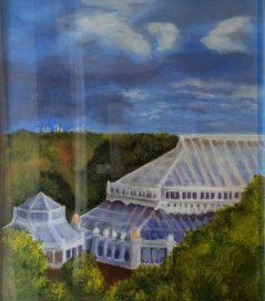 Stormy Skies at Kew by Susan Arthur-£85