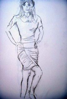 Standing Figure by Brian Woollard