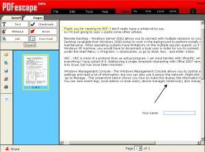 pdf escape download