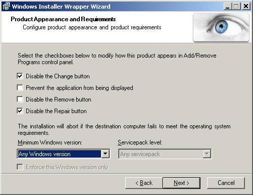 Windows Installer Wrapper Wizard and a Better Firefox 3 Enterprise