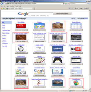 GoogleGadgetscensored