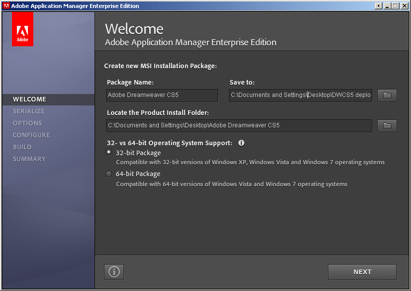 Deploying Adobe CS5 Products Through Group Policy With The