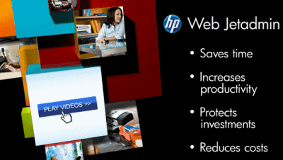 hp web jetadmin features