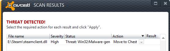 does avast affect gaming