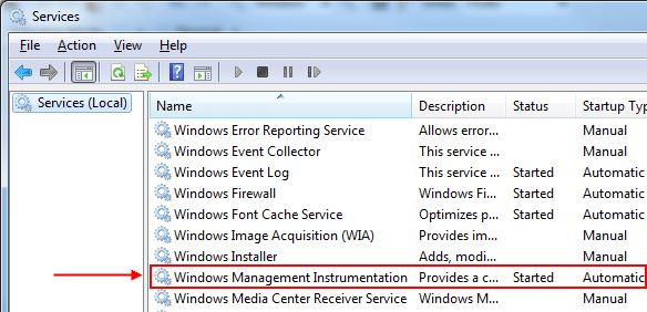 how to fix wmi issues automatically