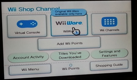 wii channel apps