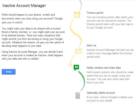 inactive account