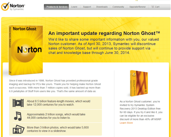 norton ghost rip