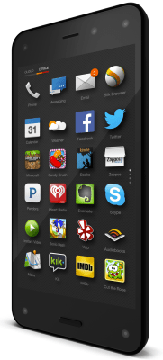 fire phone menu