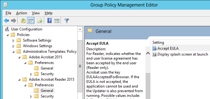 Adobe adds Group Policy Administrative Templates to Adobe Acrobat
