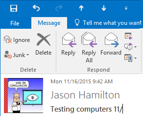 How to edit the message subject in Outlook 2016 - 404 Tech