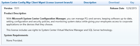Overview of Microsoft's System Center Configuration Manager