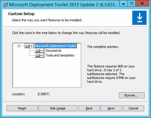 Incredible Setting Up Microsoft Deployment Toolkit 2013 Update 2 In Creativecarmelina Interior Chair Design Creativecarmelinacom