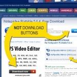 Google targets deceptive download buttons