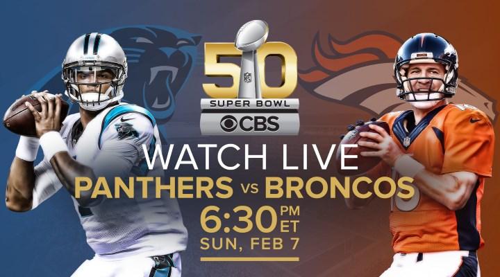 How to stream Super Bowl 50