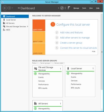 Configuring Windows Deployment Services on Windows Server