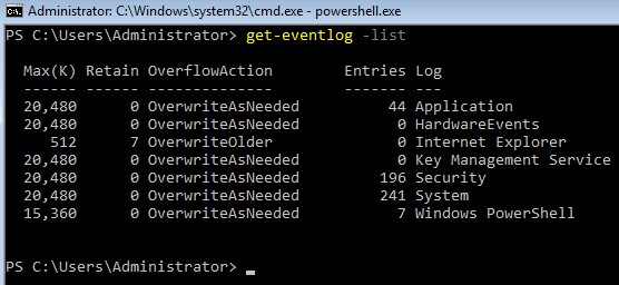 Read the Event Logs on Windows Server Core - 404 Tech Support