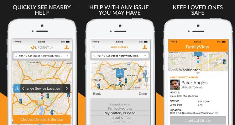 Urgent.ly app features